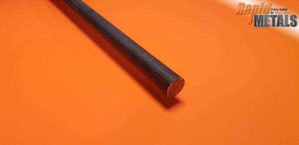 En8 (080m40) Black 130mm Round