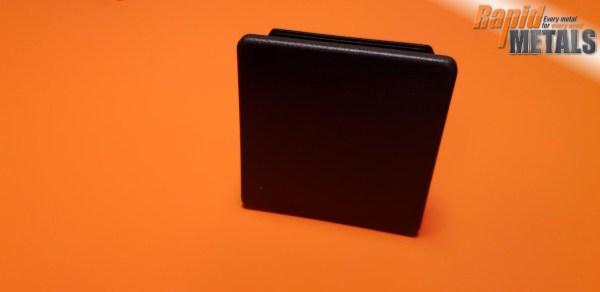 Plastic End Cap Square 50.0mm x 3.0mm Wall