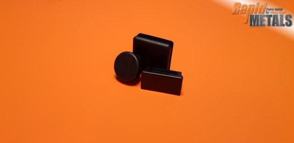 Plastic End Cap 25.4mm x 1.6mm Wall