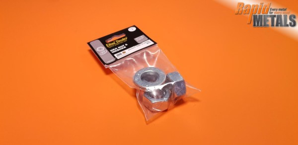 Threaded Nuts & Washers 20mm