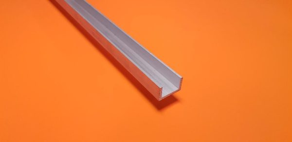 "Aluminium Channel 1"" x 1/2"" x 3.2mm Wall"
