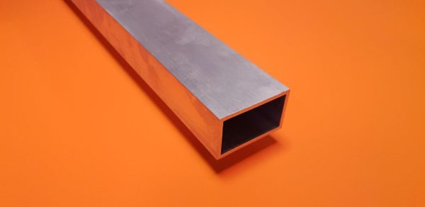 "Aluminium Box 1"" x 1/2"" x 1.6mm Wall"