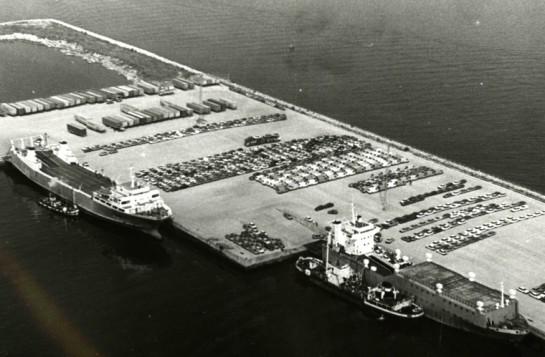 1978-Aspecto Terminal de Bouzas (Archivo Porto de Vigo)