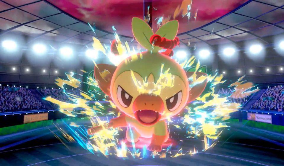 Pokémon Shield Dynamax