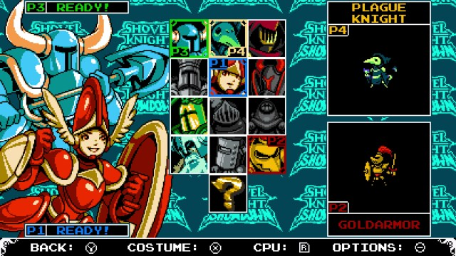 Shovel Knight Showdown on Nintendo Switch