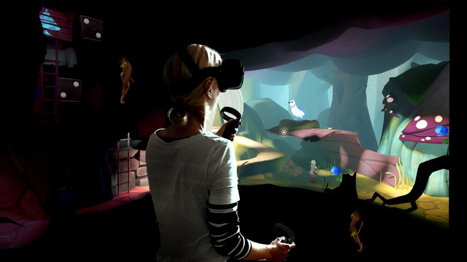 Down the Rabbit Hole Oculus Quest