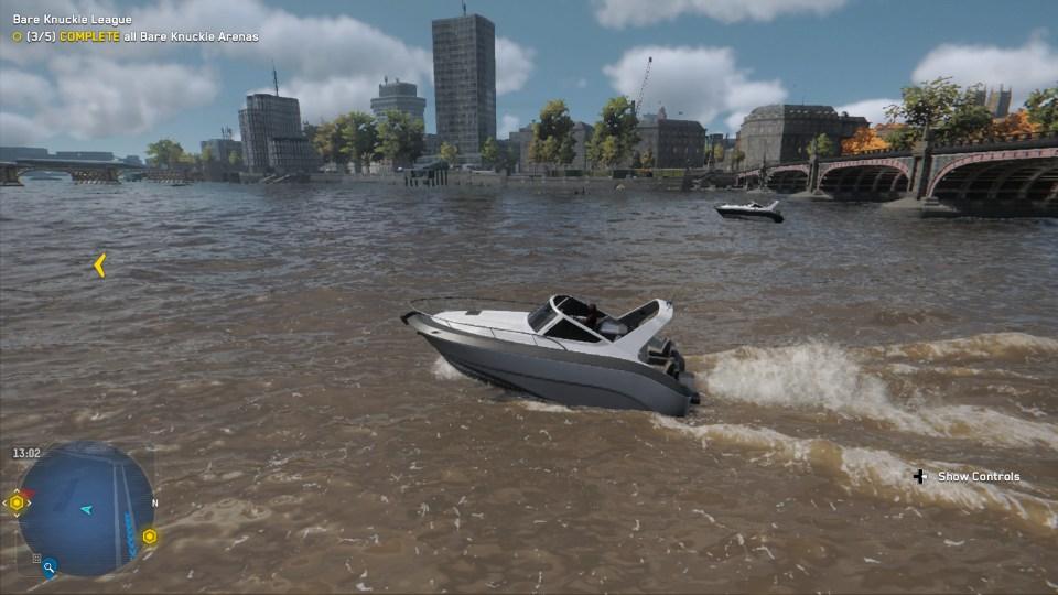 Watch Dogs Legion Boat