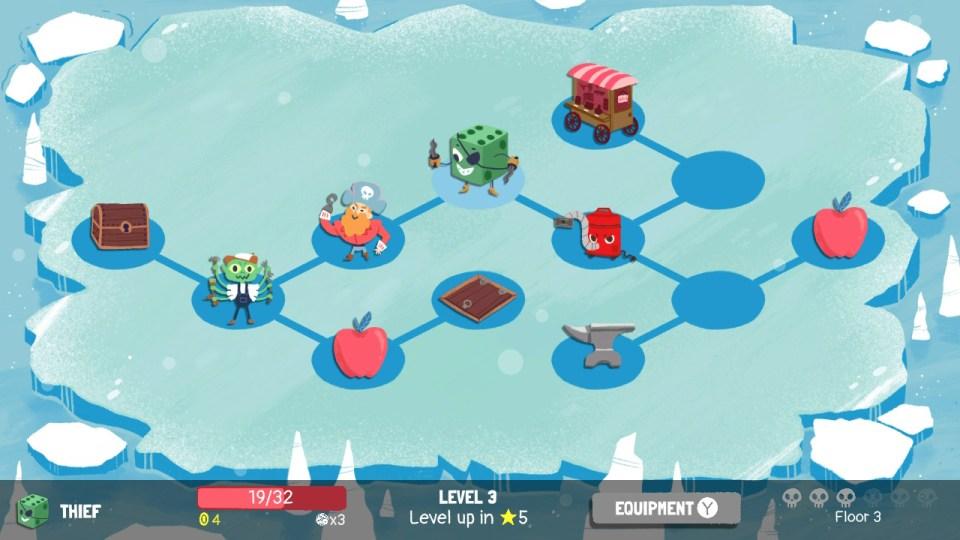 Dicey Dungeons Review