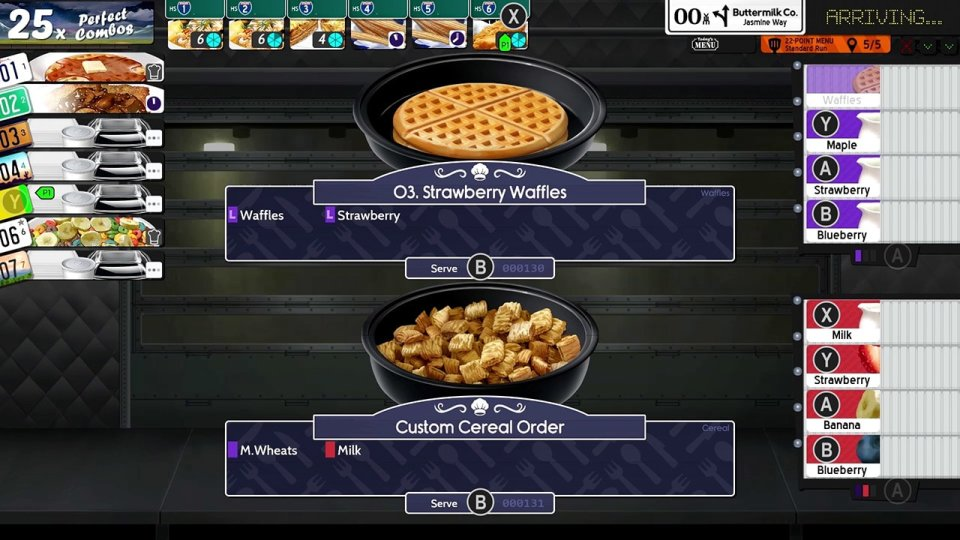 Waffles and cereal from Cook, Serve Delicious! 3?!
