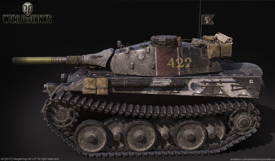Word of Tanks'...The Nameless side view