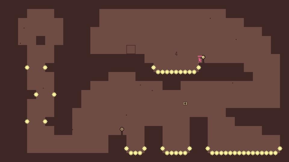 large gap for pinkman to jump
