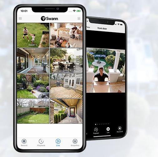 Swann security mobile phone app
