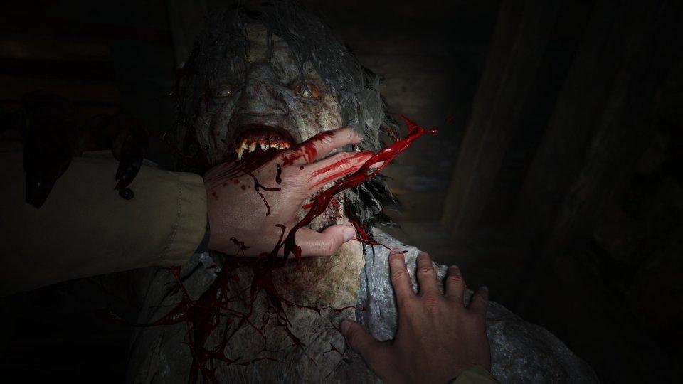 Lycan attack in Resident Evil Village