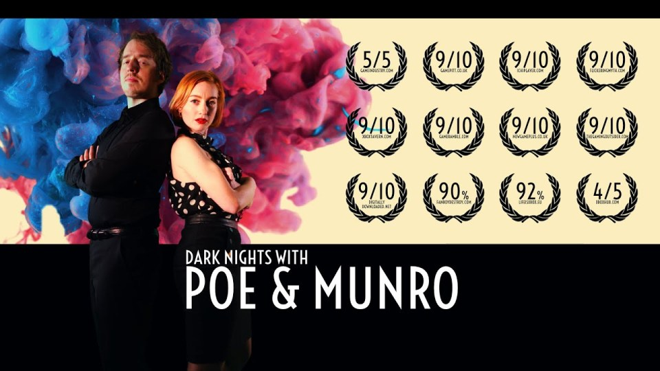 """TEXT """"Poe and Munro"""""""