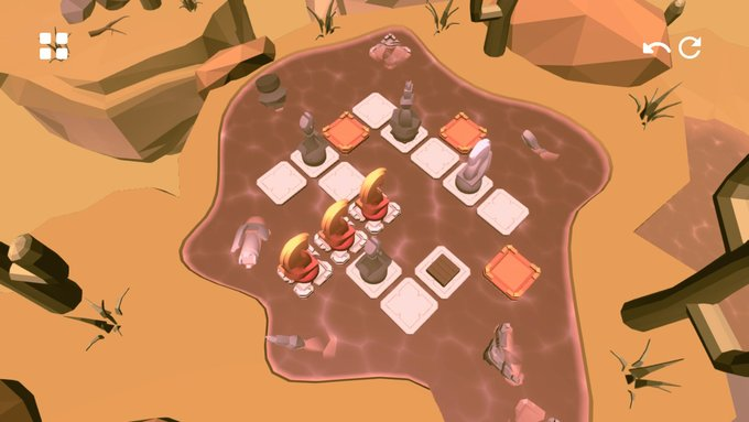 The second area in Knight's Retreat brings in new puzzle mechanics.