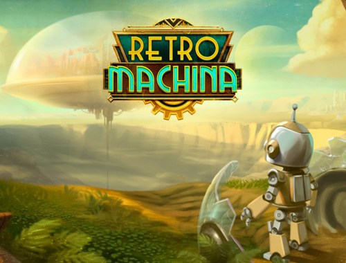 Key art showing the game logo with an image of the protagonist looking across the distance.