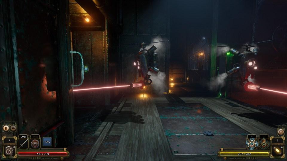 Vaporum: Lockdown Review Laser