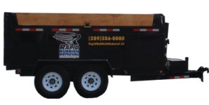 Rapid Rubbish Removal Trailer