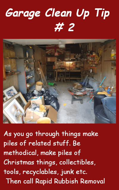 Garage Clean Up Tip #2