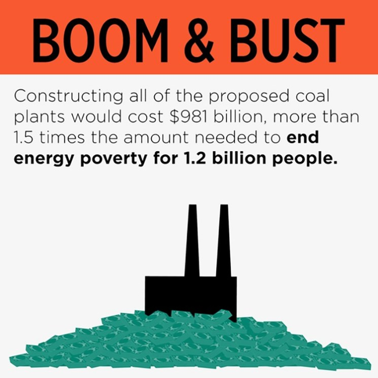 Coal plants energy poverty