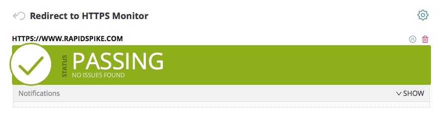 HTTPS Redirection Working