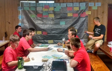 Annual Plan - leaders match events to the calendar