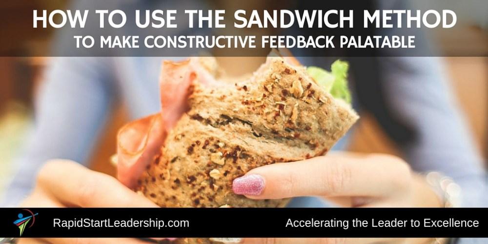 The Sandwich Method