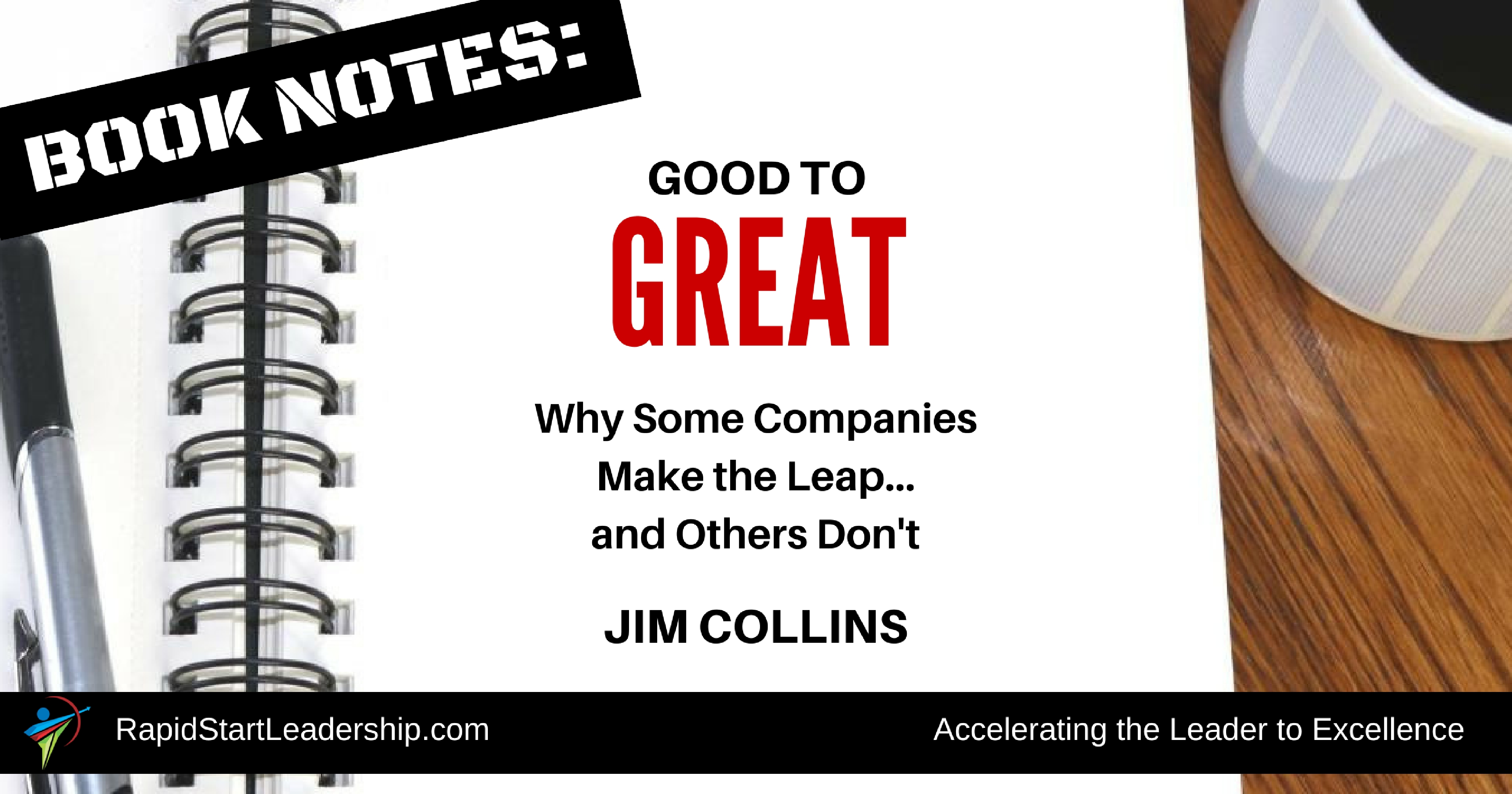 "an analysis of the book the good to great written by jim collins Jim collinscom discussion guide gain a deeper understanding of the ideas presented in the books ""built to last and good to great by using these discussion guide questions level 5 leadership i which is harder to cultivate within yourself: humility or will if level 5 is about ambition first and foremost about the."