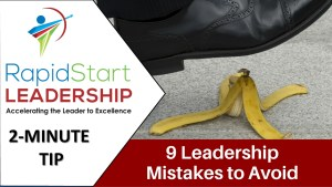 Leadership Mistakes