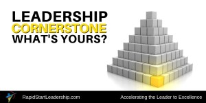 Cornerstone of Leadership