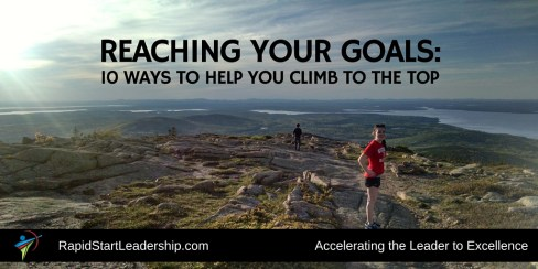Reaching Your Goals