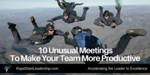 10 Unusual Meetings