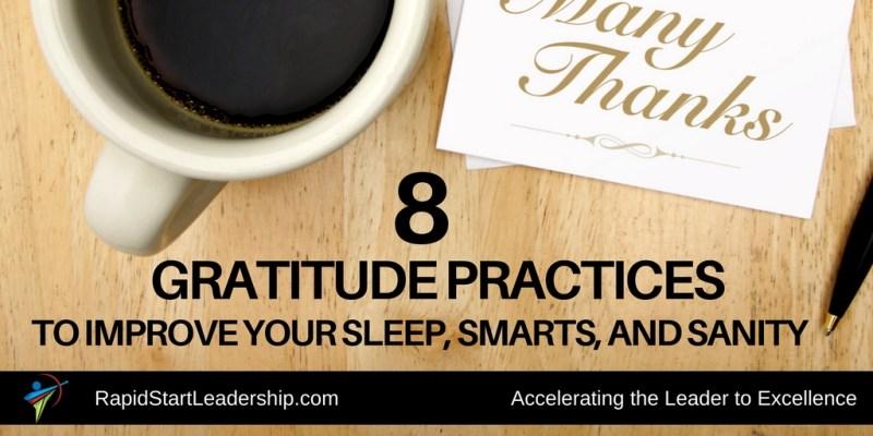8 gratitude practices