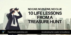 Treasure Hunt Life Lessons