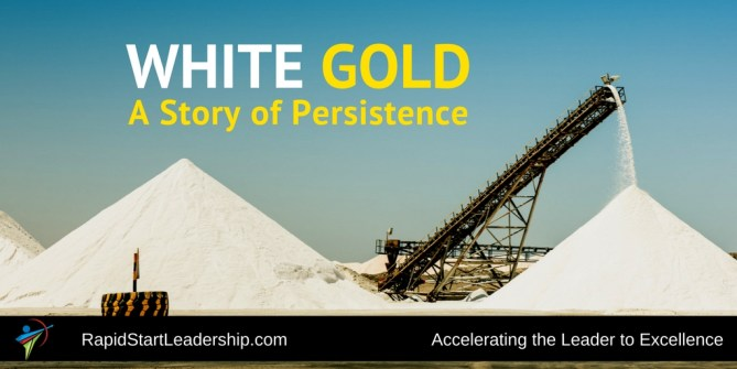 Persistence - White Gold