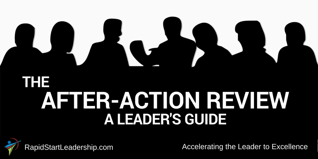 After Action Review - A Leader's Guide