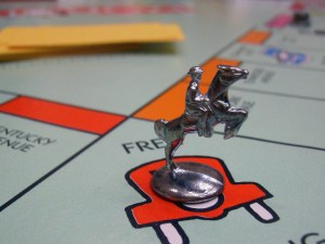 Change the Game - Monopoly Board