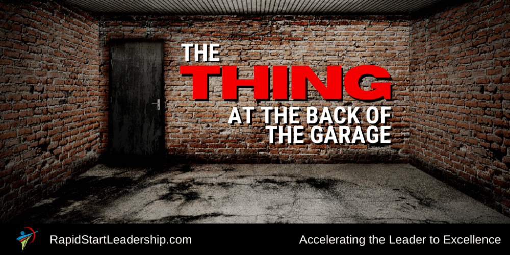 The Thing at the Back of the Garage