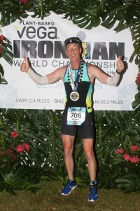 Ken Downer at the Ironman World Championships