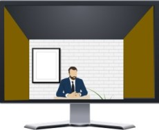 Video Conference Characters - The Distant Cousin