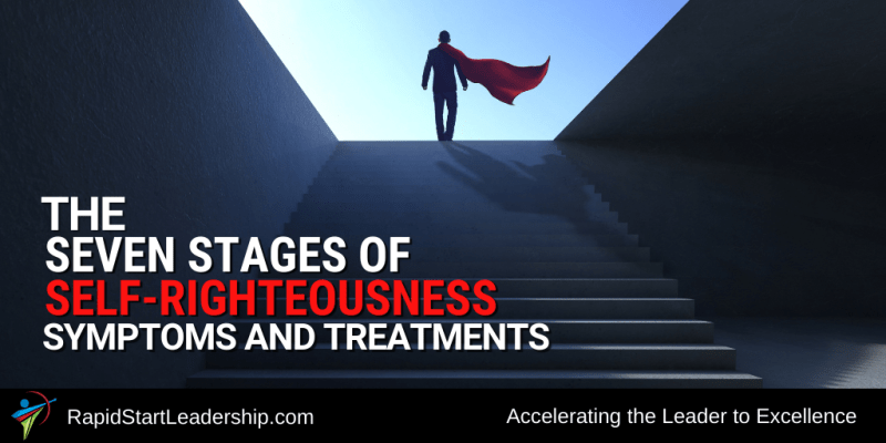 Stages of Self-Righteousness