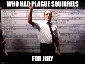 Plans are Worthless - Apocalypse Bingo Plague Squirrels