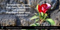Thorns have Roses