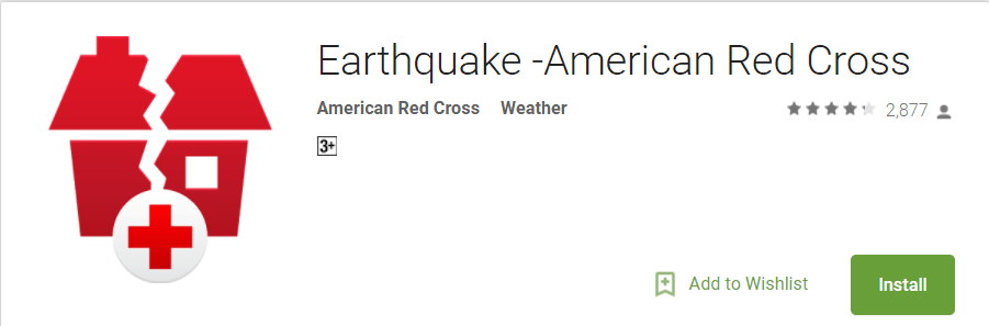 Earthquake safety app for android