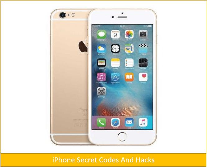Top 20 iPhone Secret Codes and Hacks 2017