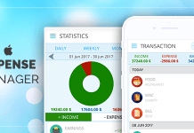 expense manager ios