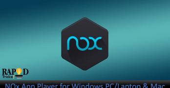 Nox App Player : Download Nox Android Emulator for Windows PC/Laptop & Mac