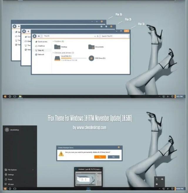 FFOX - best windows 10 themes