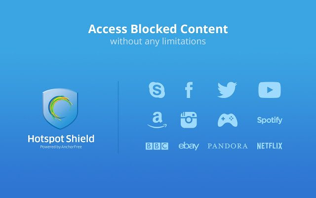HotSpot Shield - Best VPN Softwares for Windows & MAC