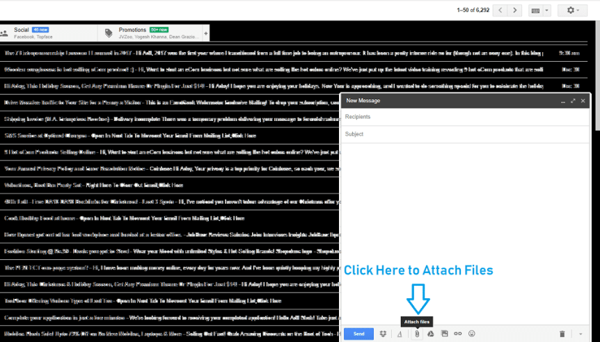 How to delete attachments in Gmail